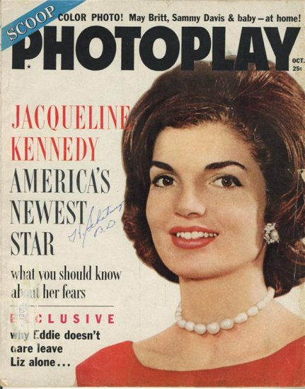 Jacqueline Kennedy Photoplay May 1961