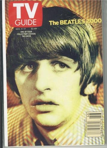 Ringo Beatles 2000 TV Guide Nov 11-17 2000