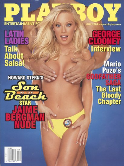 Playboy July  2000  Jamie Bergman