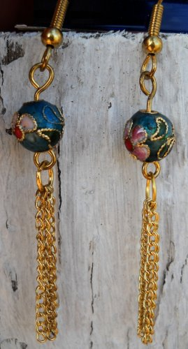 Evening Flower Earrings