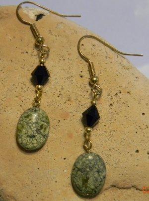 Russian Serpentine Earrings