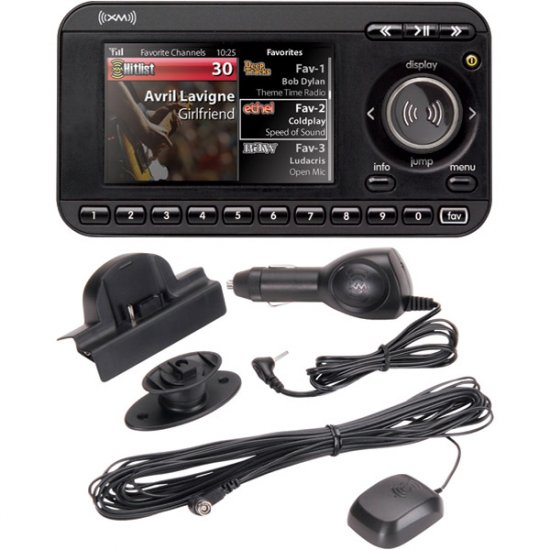 XM XpressRC Receiver with Car Kit SA10315