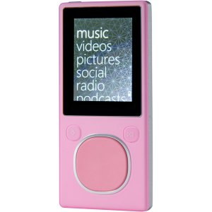 Microsoft 8GB Zune Player Pink N59779