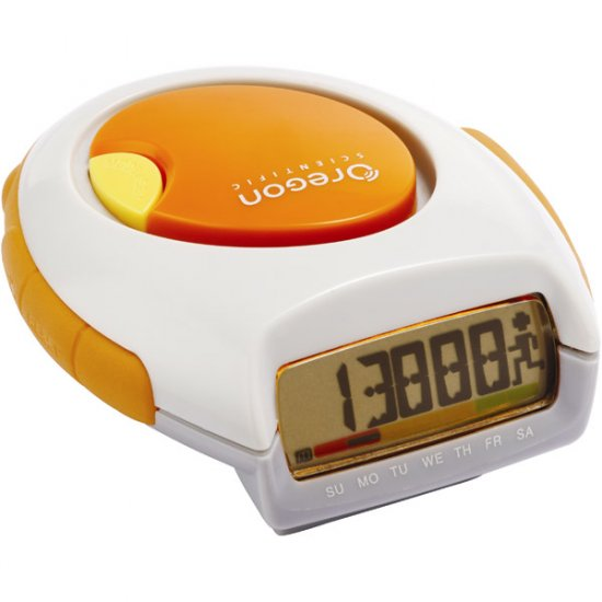 Oregon Scientific Pedometer with Calorie Counter and Panic Alarm PE-828