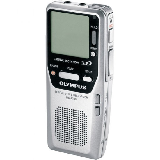Olympus Digital Voice Recorder with 16MB xD� Card and USB Connection DS2300