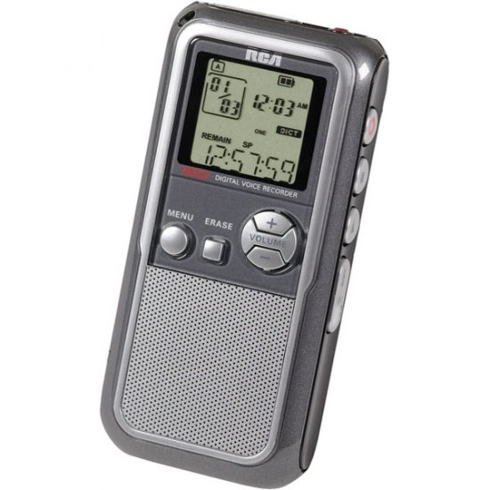 RCA 256MB Digital Voice Recorder