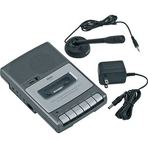 RCA Voice Recorder with 3-Digit Tape Counter RP3503