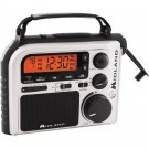 Midland Emergency Crank Radio with AM/FM and Weather Alert ER-102