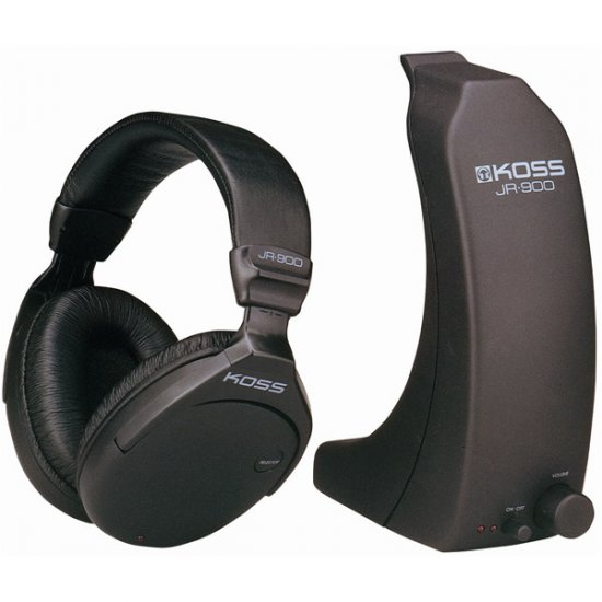 Koss Full-Size Wireless RF Stereophone System JR-900RF