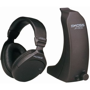 Koss Full-Size Wireless RF Stereophone System JR-900RF