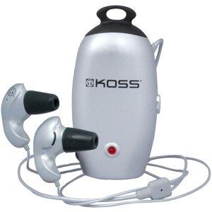 Koss Active Noise Reduction Plug System Stereophones QZ-77