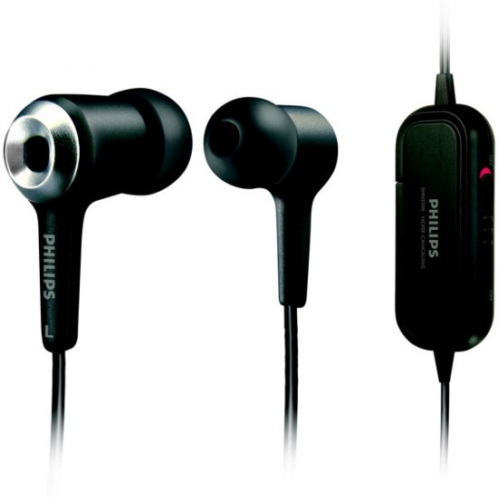Philips Active Noise Canceling Earbuds SHN2500