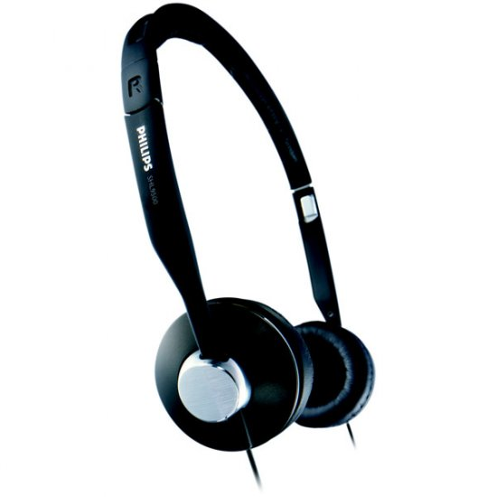Philips Lightweight Mid-Size Headphones SHL9500