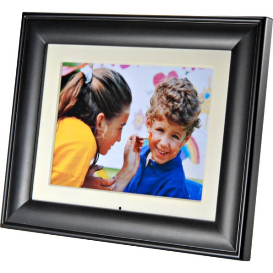 "Audiovox 9"" Digital Photo Frame with Interchangeable Frames DPF908"