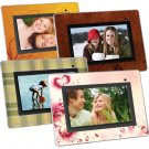 "Cenomax 7"" Digital Photo Frame with 4 Interchangeable Frames F7024B"