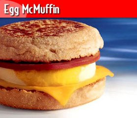 Sausage & Egg Mc Muffin
