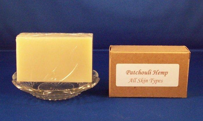 Natural Organic Patchouli Bar Soap 3.5 oz