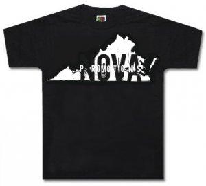 Virginia Black Shirt Size YOUTH MEDIUM