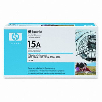 HP C7115A, Genuine LJ 1200/ 1220/ 3300 MFP/ 3310/ 3320 MFP/ 3330 MFP/ 3380 Series Toner Cartridge
