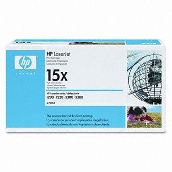 HP C7115X, Genuine LJ 1200/ 1220/ 3300 / 3310/ 3320 / 3330 / 3380 , High Yield Toner Cartridge