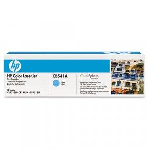 HP, CB541A, Genuine Cyan Toner Cartridge for Color LJ CM1312 MFP/ CP1215/ CP1515/ CP1518/ CP1510