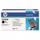 HP CE250X, Genuine High Yield Black toner cartridge Color LJ CM3530 MFP/ CP3525