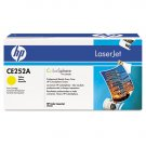 HP CE252A, Genuine Yellow Toner Cartridge Color LJ CM3530 MFP/ CP3525
