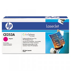HP CE253A, Genuine Magenta Toner Cartridge Color LJ CM3530 MFP/ CP3525