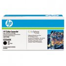 HP CE260X, Genuine Color LJ CP4525 Series Black Toner Cartridge (