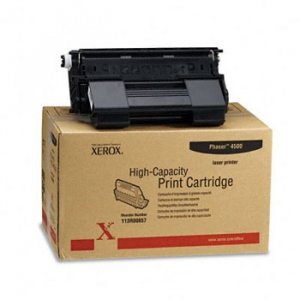 Xerox 113R00657, Genuine Phaser 4500 High Yield Toner Cartridge