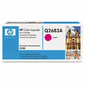 HP Q2683A, Genuine 311A Color LJ 3700 Magenta Toner Cartridge