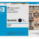 HP Q6460A, Genuine 644A Color LJ 4730/ CM4730 Series Black Toner Cartridge (