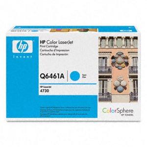 HP Q6461A, Genuine 644A Color LJ 4730/ CM4730 Series Cyan Toner Cartridge