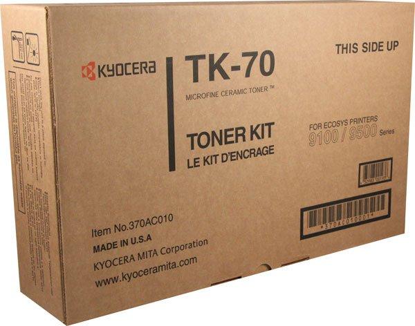 Kyocera TK-70, Genuine FS-9100/ 9100DN/ 9120DN/ 9500DN/ 9520DN Toner