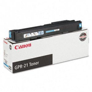 Canon, 0261B001AA Genuine GPR-21 Cyan Toner Cartridge