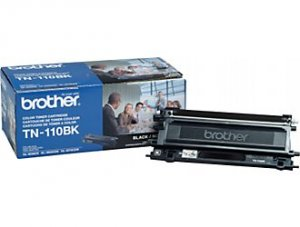 Brother, TN110BK Genuine Black Toner Cartridge