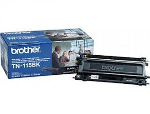 Brother, TN115BK High Yield Black Toner Cartridge
