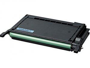 Samsung, CLP-C600A, Genuine Cyan Toner