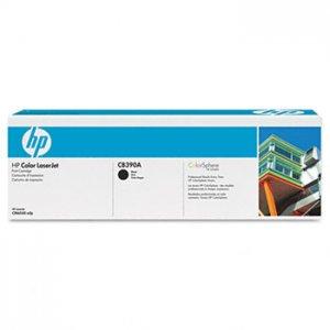 HP CB390A, 825A Genuine Black Toner Cartridge