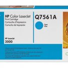 HP Q7561A, 314A Genuine Cyan Toner Cartridge