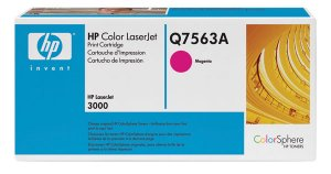 HP Q7563A, 314A, Genuine Magenta Toner Cartridge