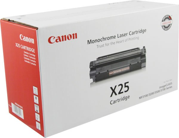 Canon, 8489A001AA, (X25), Genuine toner Cartidge