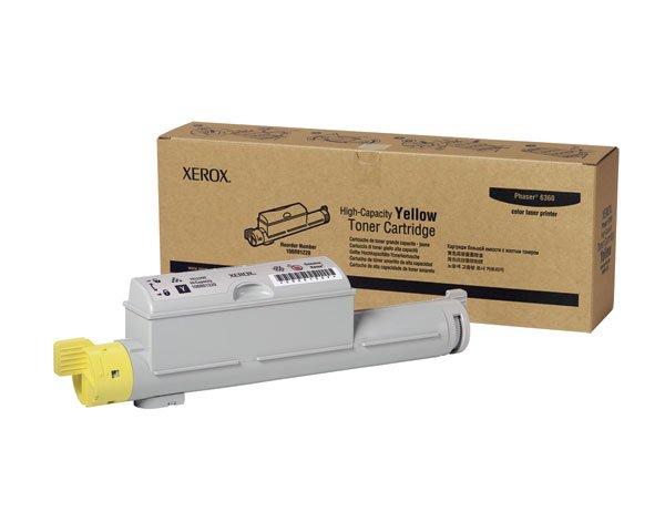 Xerox, 106R01220 Genuine Phaser 6360 Yellow High Capacity Toner