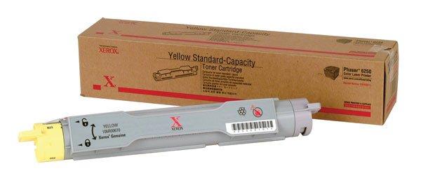 Xerox, 106R00670 Genuine Phaser 6250 Yellow Standard Capacity Toner