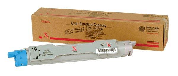 Xerox, 106R00668, Genuine Phaser 6250 Cyan Standard Capacity Toner