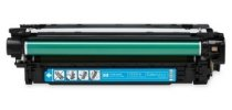 HP, CE261A, Compatible Cyan Toner Cartridge, Color LJ CP4025/ CP4525 Series