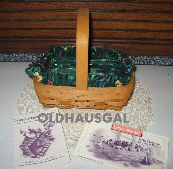 SALE! 1996 Longaberger Horizon of Hope Basket Combo Set