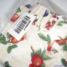 "NEW 13"" Measuring Basket LINER ONLY Fruit Medley + FREE SHIPPING"