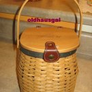 RARE 2004 Longaberger Collector's Club 5 Year Anniversary  Charter Basket Handbag?