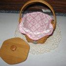 2001 Longaberger Horizon of Hope Classic Basket Combo Breast Cancer Awareness